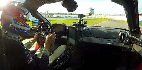 McLaren Senna onboard Hockenheim record