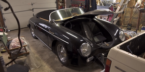 Porsche 356 Speedster Barn Find Virginia