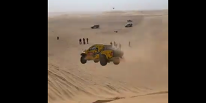 Dakar 2020 accidente