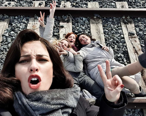 Blanca Suárez se despide de 'Las Chicas del Cable'