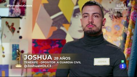 Joshua Vázquez, de la polémica por plagio de Cristina Pedroche a 'Maestros de la costura'