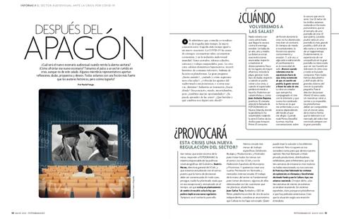 reportaje revista fotogramas mayo