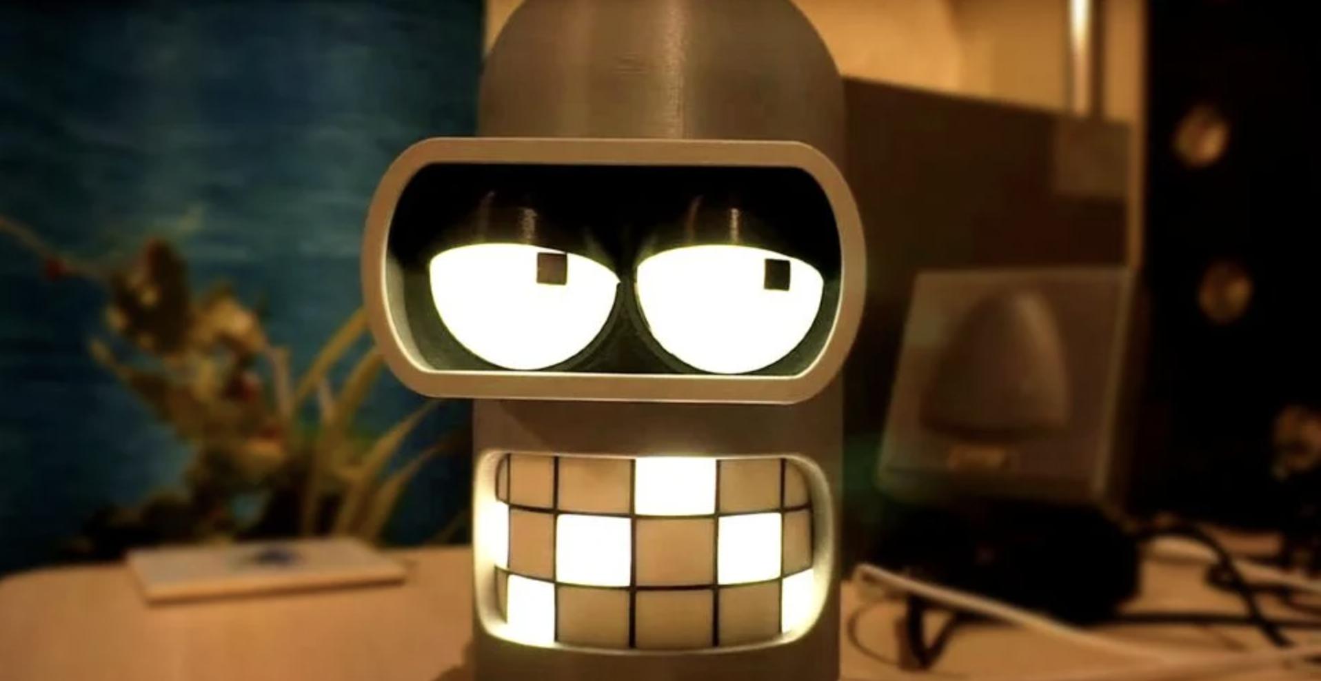 'Futurama': un fan diseña un altavoz interactivo de Bender