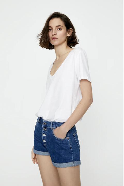 hazte con uno de estos diez 'shorts' denim de pullbear que están en rebajas