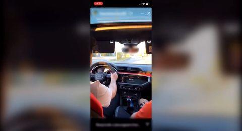alquilan un coche y se graban a 148 kmh en una calle de 20
