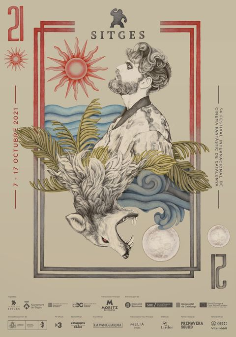 cartel del festival de sitges 2021