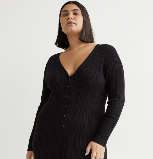 vestido hym negro