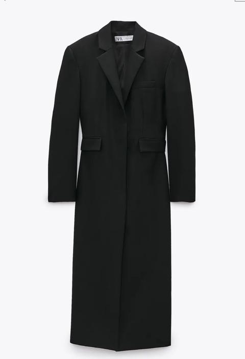 vestidos negro zara