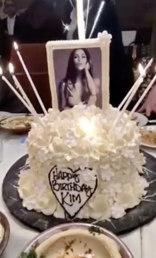 Kim Kardashian S 37th Birthday Dinner Kim Kardashian
