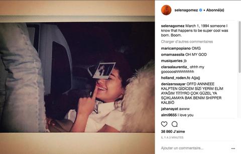 Selena Gomez Deleted Only Justin Bieber Instagram - Selena