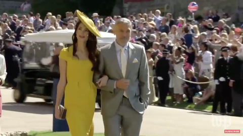 George and Amal Clooney at the Royal Wedding Capture-d-e-cran-2018-05-19-a-5-28-14-am-1526722261