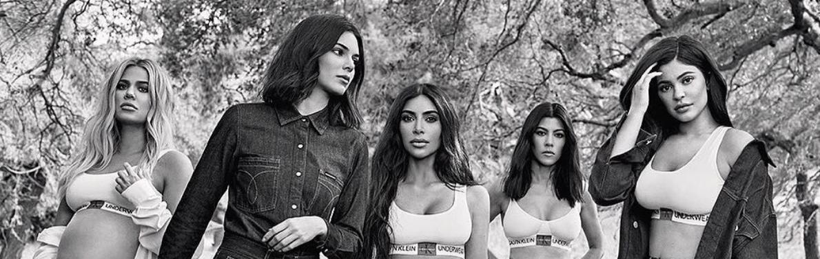 Calvin Klein Releases Latest Kardashian Sisters Campaign -5274