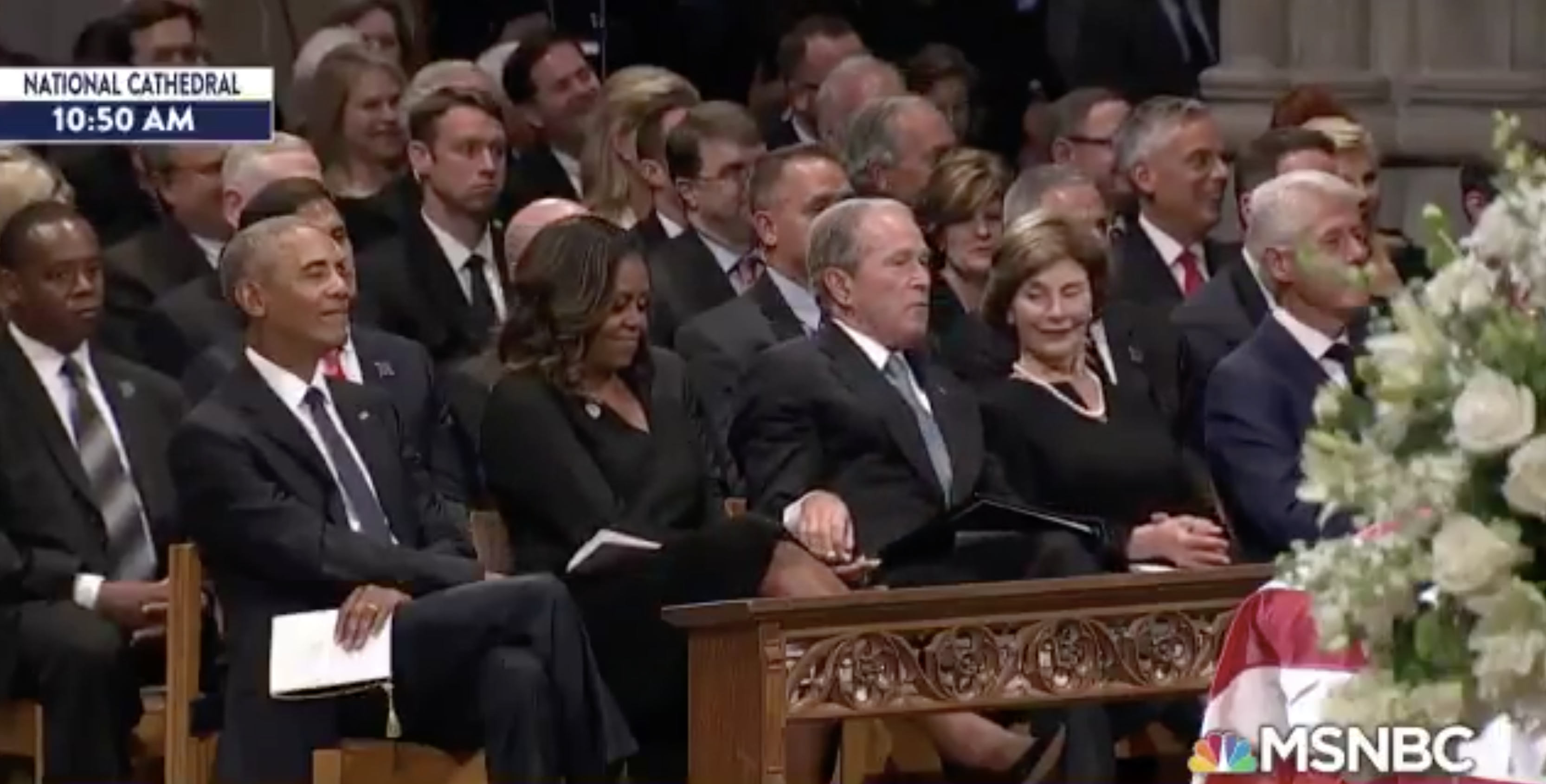 Michelle Obama Explains Her And George W Bush S Candy Exchange And