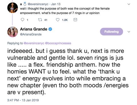 Ariana Grande S Thank U Next Album Songs Meanings Ghostin
