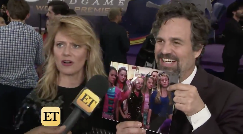 Mark Ruffalo Had the Purest Response to Learning Brie Larson Was in <i>13 Going on 30</i> With Him