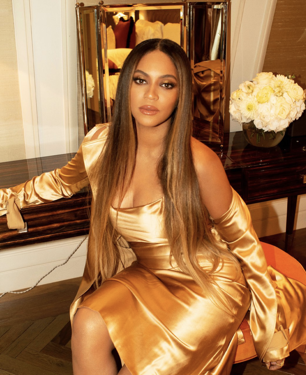 Beyoncé Posted Personal Photos of Her Meghan Markle Meeting and 'Lion King' After Party Dress