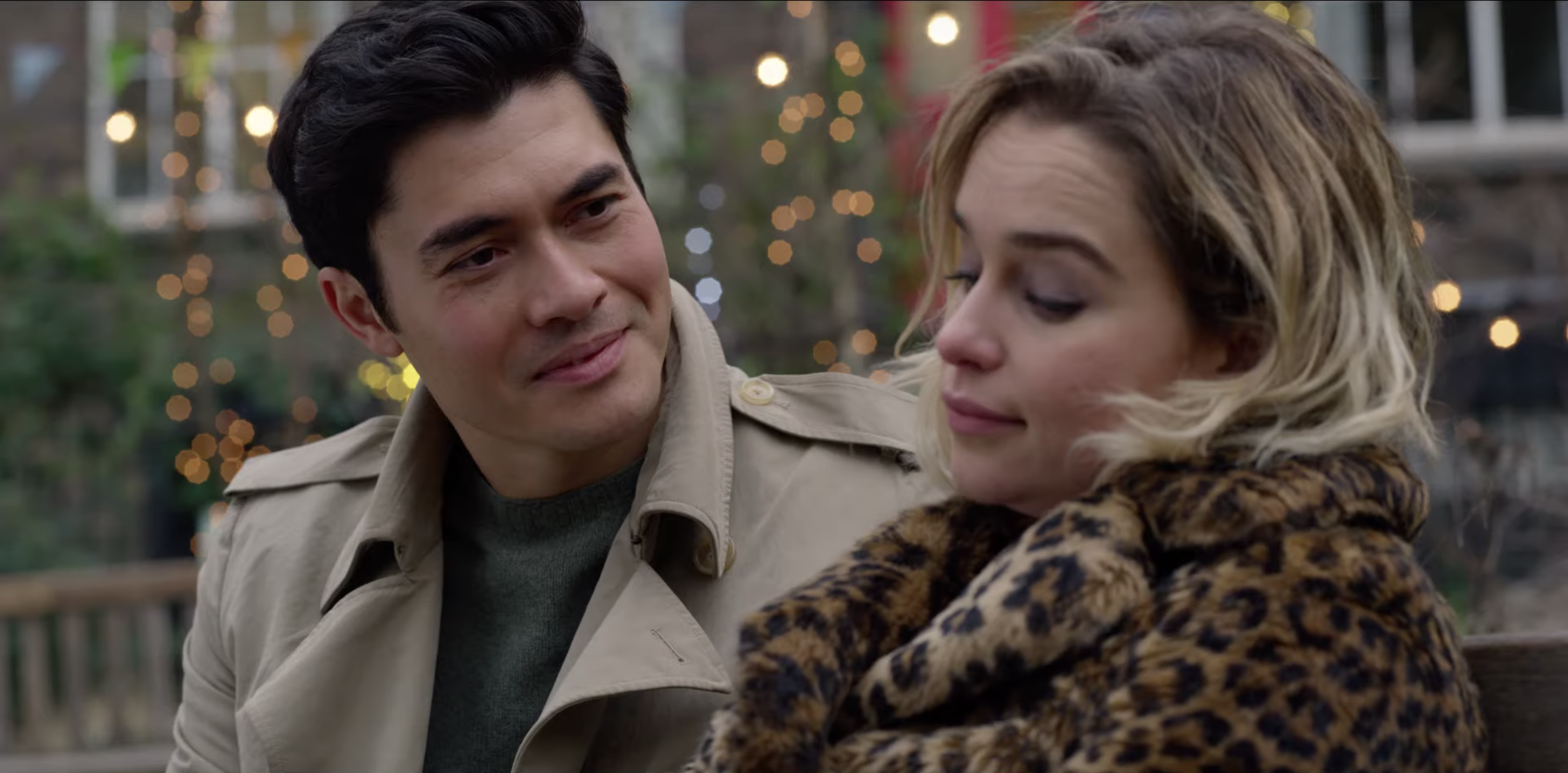 See the 'Last Christmas' Trailer Starring Emilia Clarke and Henry Golding