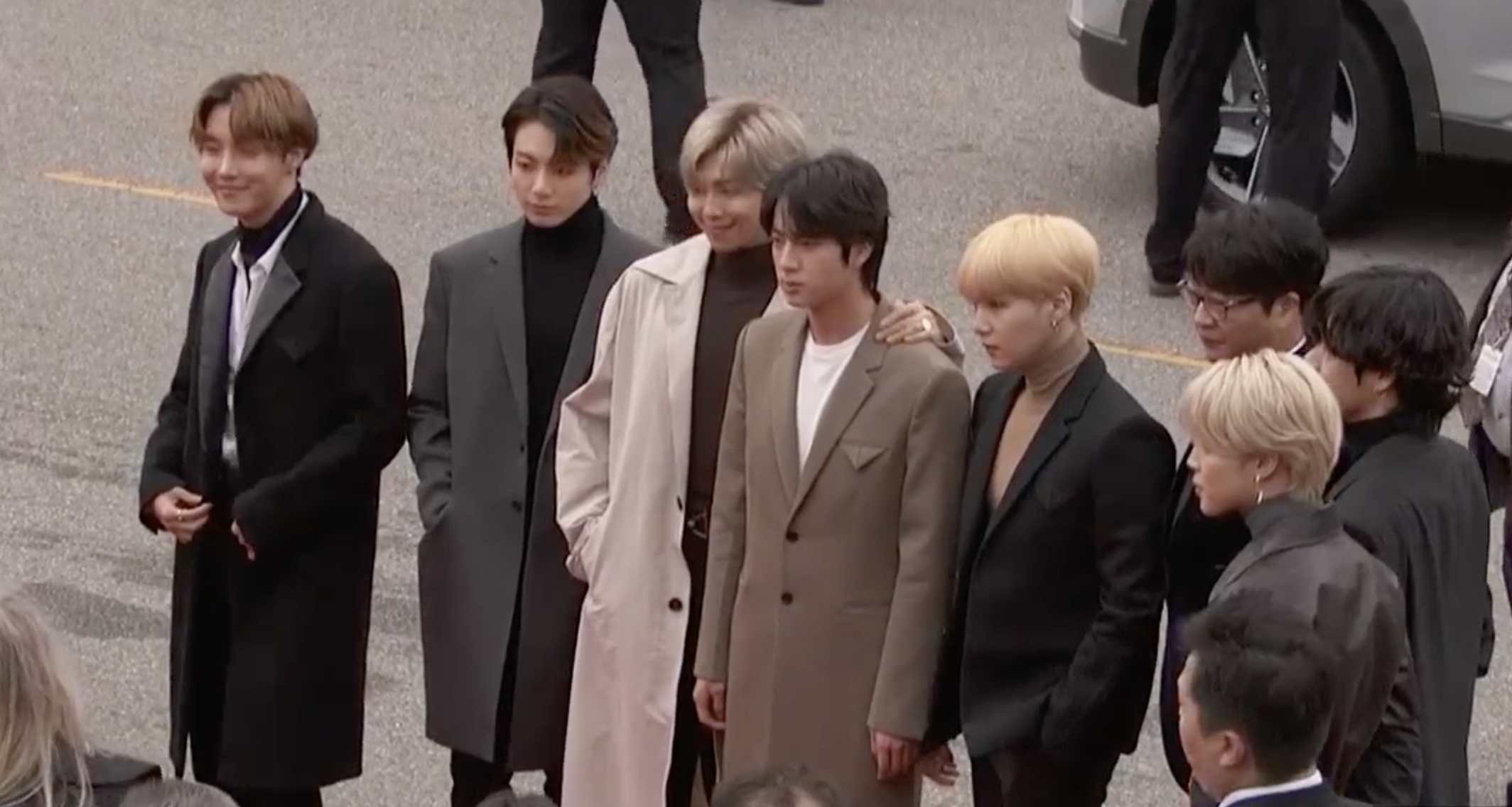 BTS Shows How to Do Menswear at the 2020 Grammys