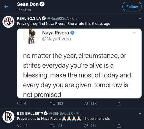 two of the tweets big sean liked