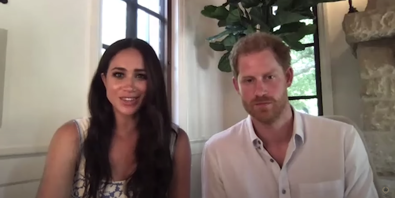 see meghan markle and prince harry s first appearance in new montecito home see meghan markle and prince harry s
