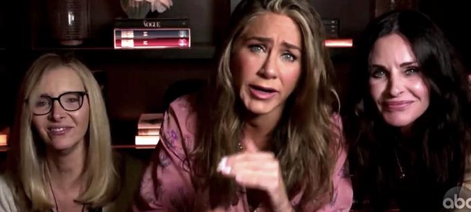 Watch Jennifer Aniston, Courteney Cox and Lisa Kudrow's ...
