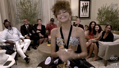 Zendaya Makes Emmys History - Read Speech and See Second Outfit
