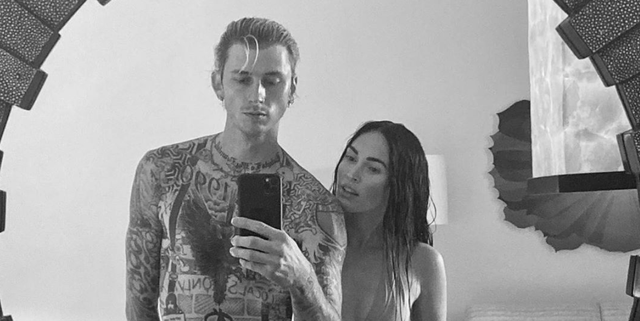 Machine Gun Kelly Says 'Falling in Love' With Megan Fox Changed Him for the Better