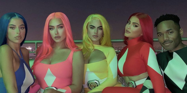 Kylie Jenner and Her Friends Dressed Up as Sexy Power Rangers for Halloween 2020