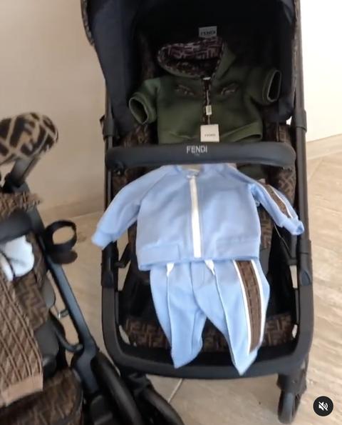 nicki minaj's baby gifts from fendi