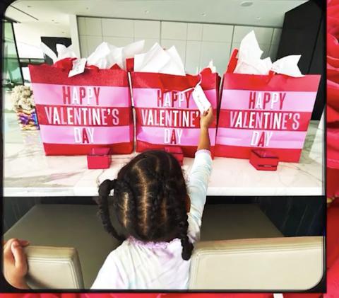 beyoncé's valentine's day photos