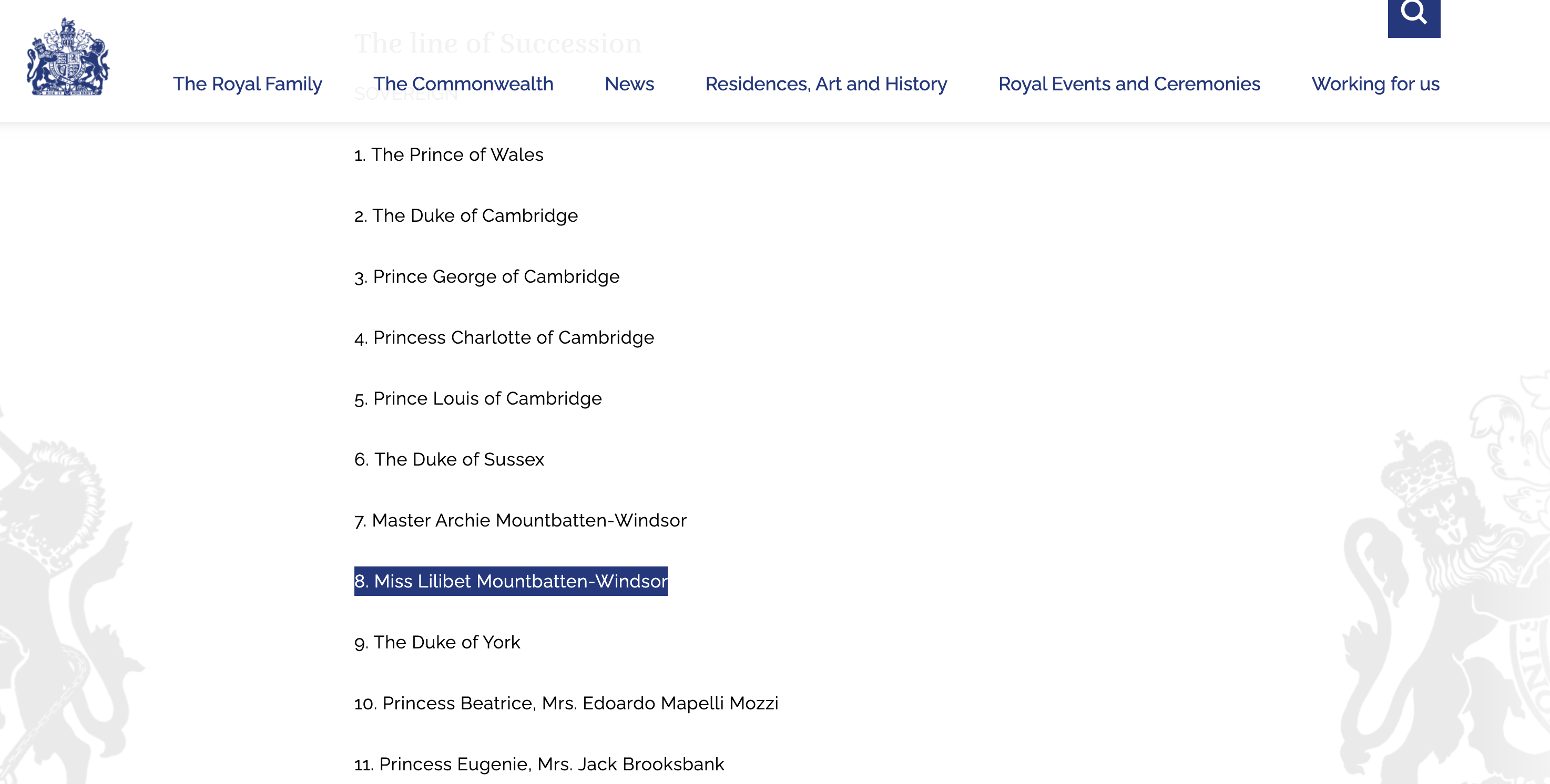 The Royals Added Meghan Markle and Prince Harry's Baby Lili to Its Site's Line of Succession After Controversy
