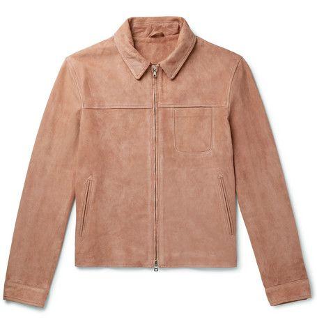 Chaqueta ante MR PORTER, chaqueta hombre, chaqueta ante hombre