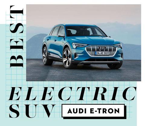 best car awards best electric suv   audi e tron