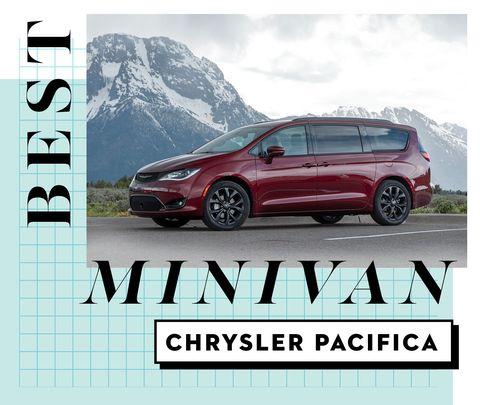 best car awards best minivan   chrysler pacifica