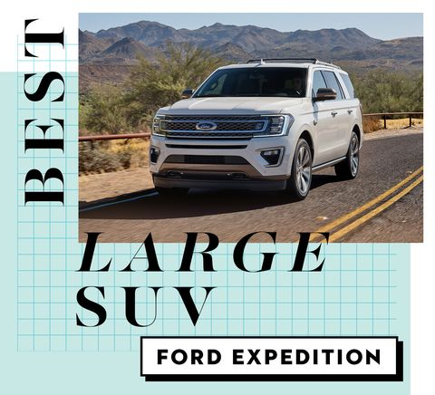 best car awards best large suv   ford expedition