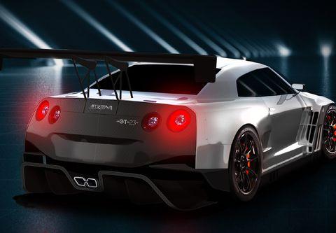 Land vehicle, Vehicle, Sports car, Supercar, Automotive design, Car, Performance car, Coupé, Nissan gt-r, Automotive lighting,