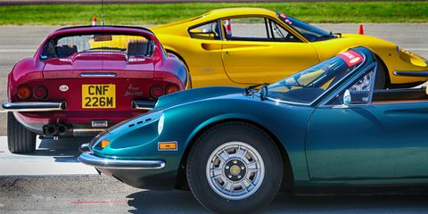 Land vehicle, Vehicle, Car, Dino, Regularity rally, Supercar, Coupé, Sports car, Classic car, Classic,