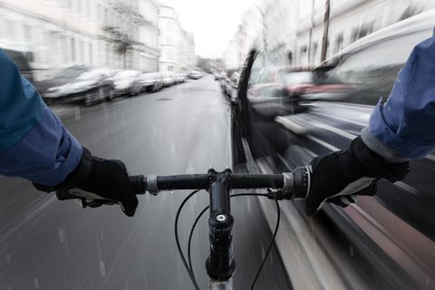 This New Rule in the U.K. Could Protect Cyclists from Car Doors