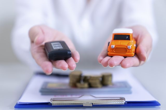 car insurance concept,car sale,loan