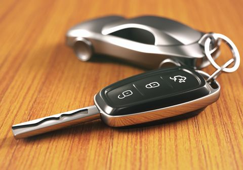 Car key and keying