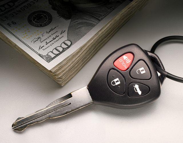 car key money