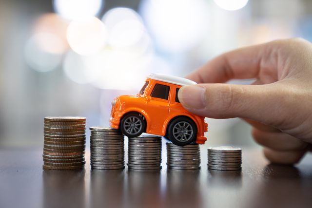 car loan,money,car insurance concept