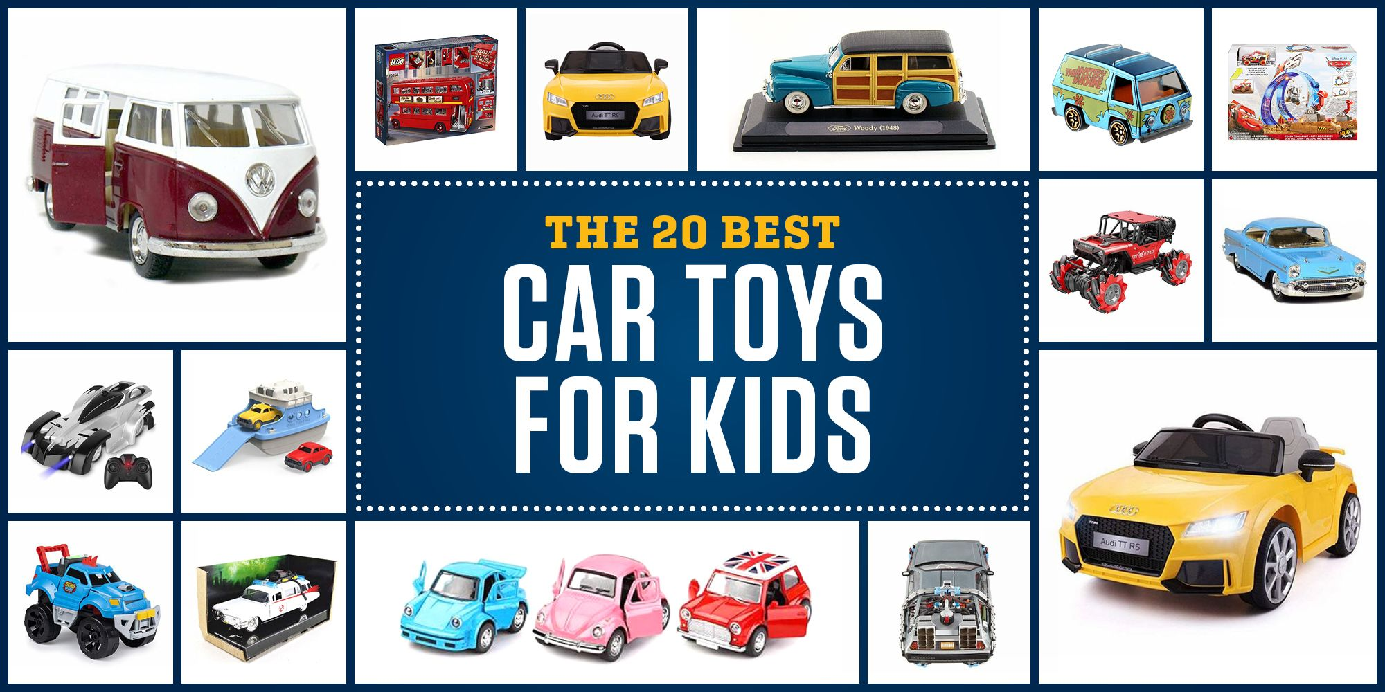 Our 20 Favorite Car Toys for Kids