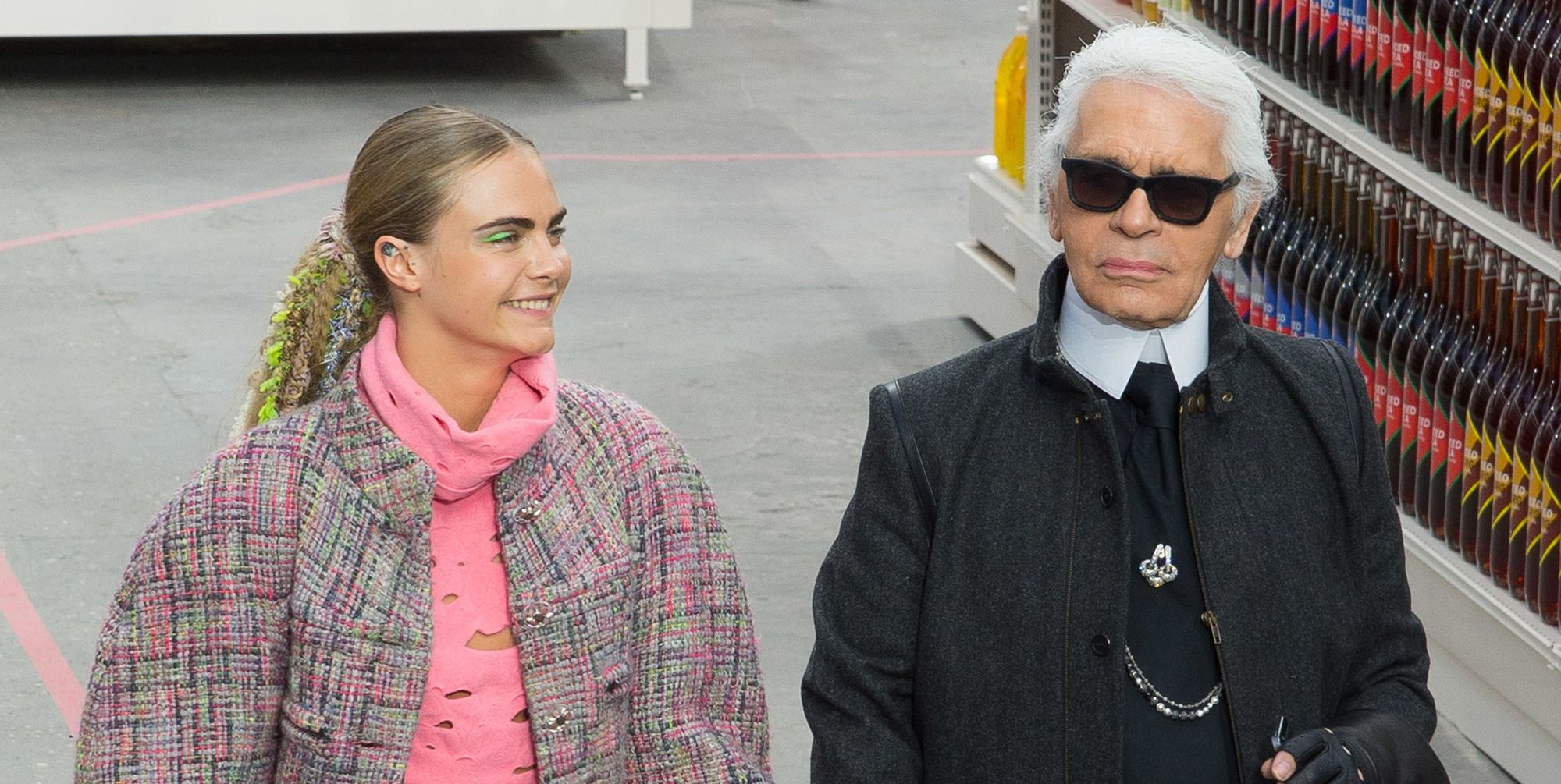 """Cara Delevingne on Karl Lagerfeld: """"He changed my life"""""""