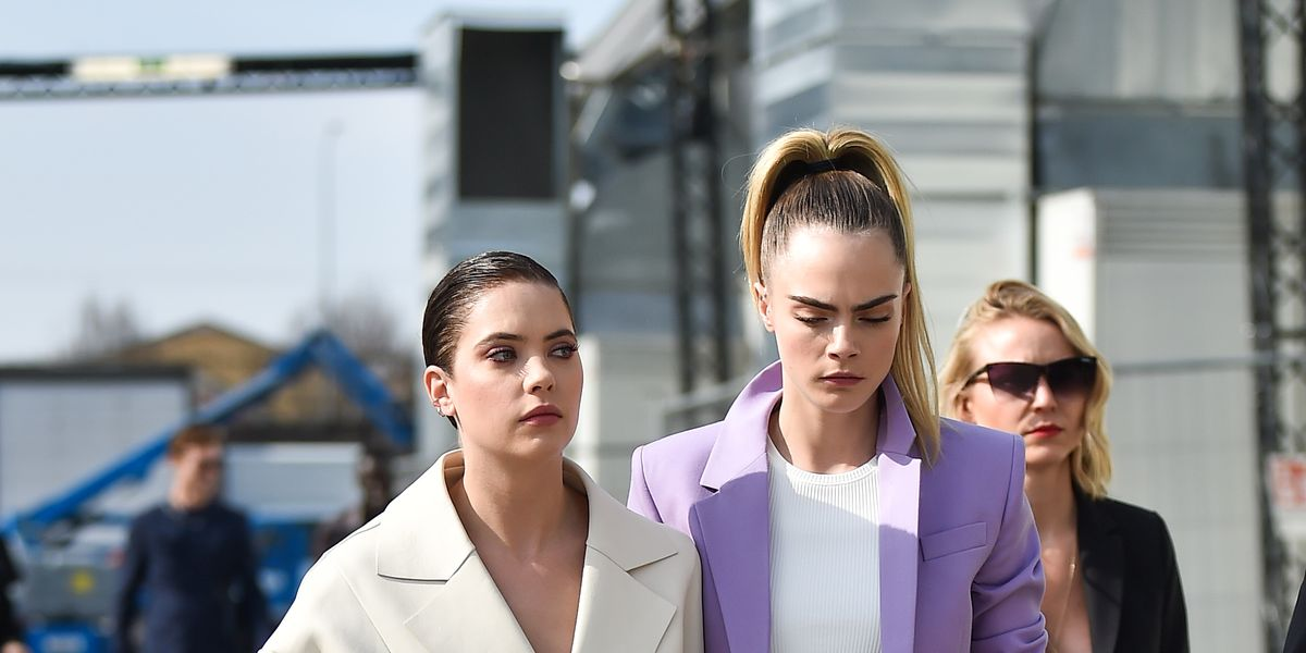 Cara Delevingne and Ashley Benson Are the Best-Dressed Couple at Milan Fashion Week