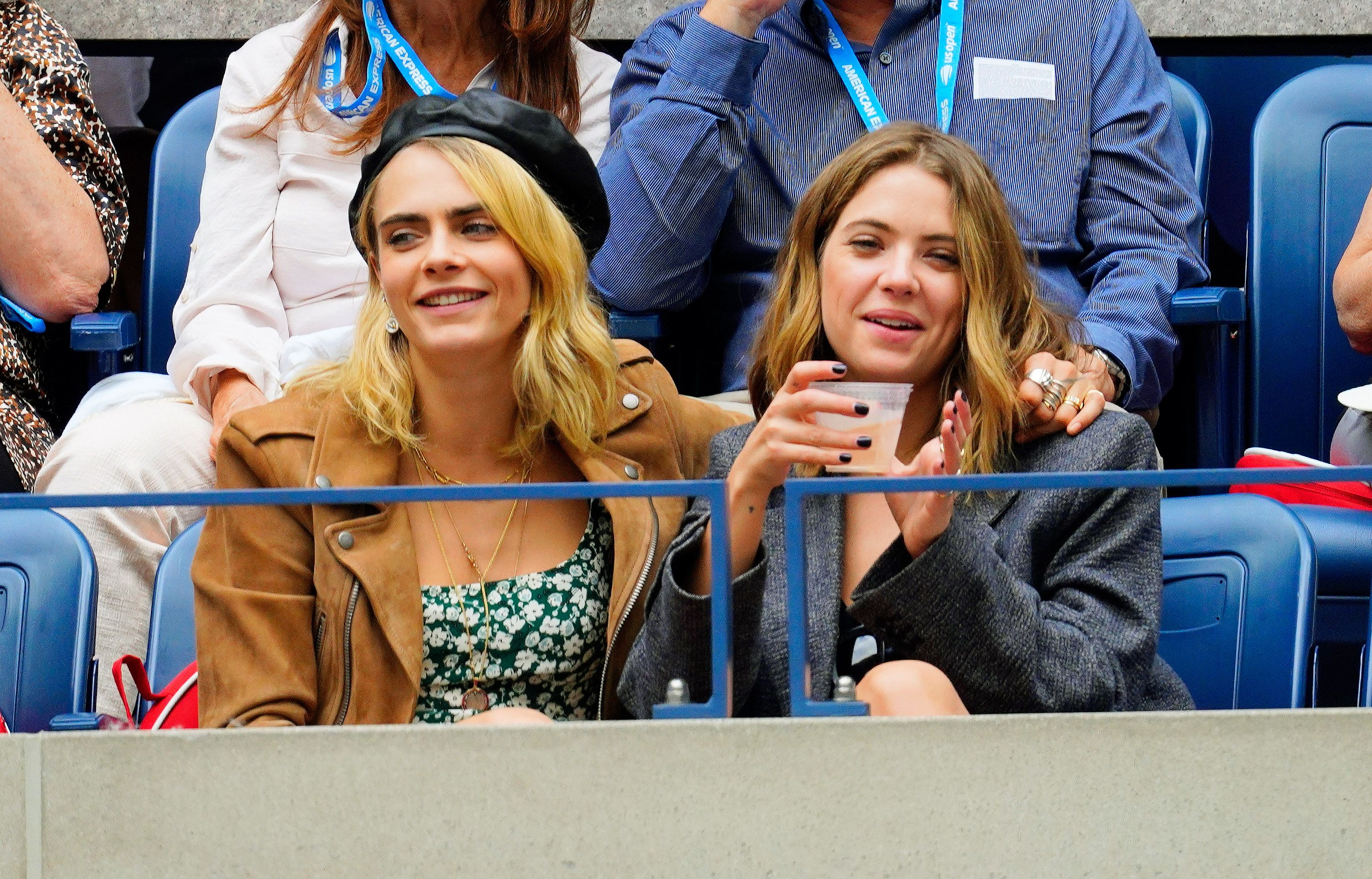 Ashley Benson and Cara Delevingne Are Really Touchy-Feely With Each Other In Public