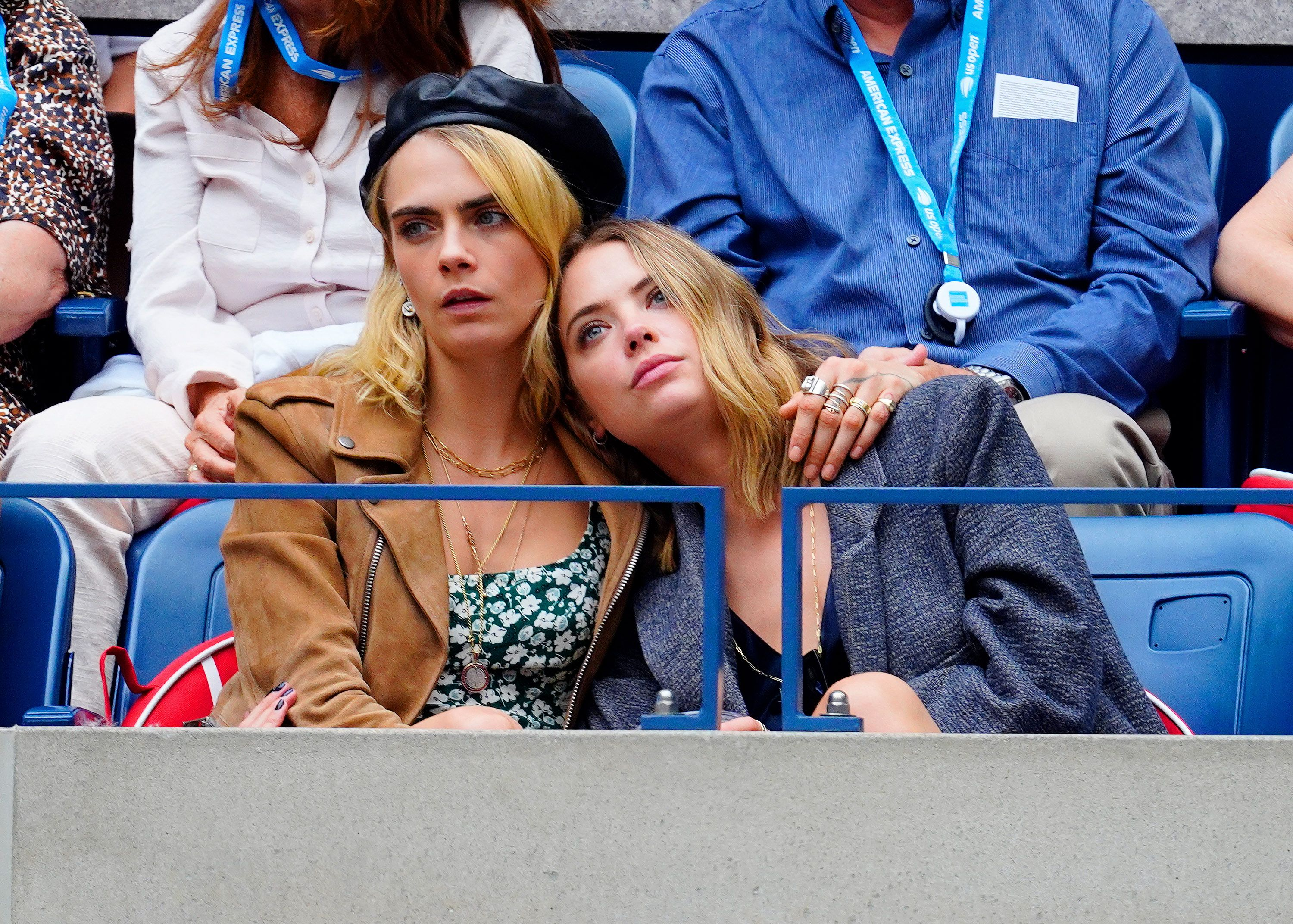 Cara Delevingne And Ashley Benson Kiss And Confirm Dating Rumors