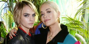 Cara Delevingne and Rita Ora for Rimmel - cyber beauty bullying interview