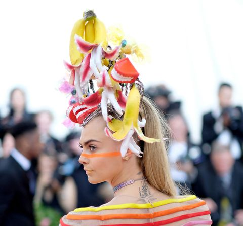 See How Cara Delevingne S Colourful Dior Ensemble Was Made