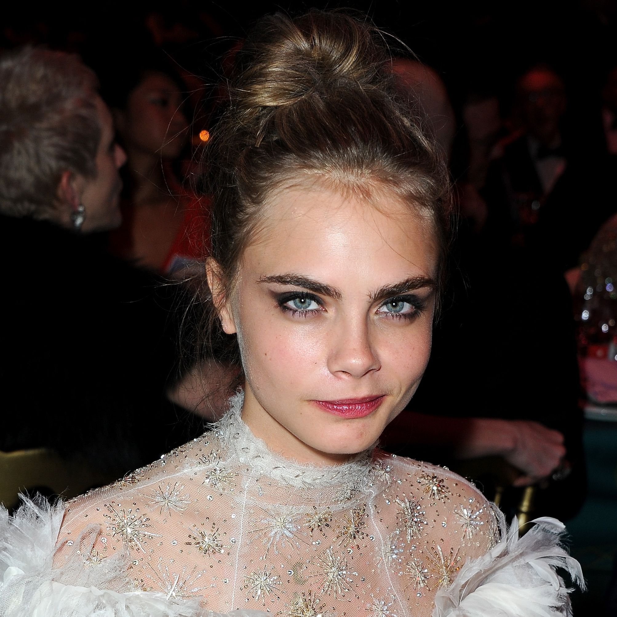 """""""There's something dark within me I cannot shake."""" Cara Delevingne told The Guardian in September 2017 that becoming a famous model hasn't magically made her depression disappear."""